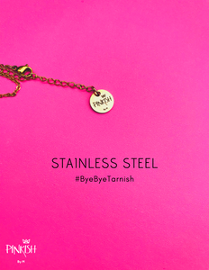 Stainless Steel No Tarnish Pinkish by M