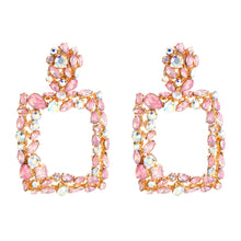 Load image into Gallery viewer, Princess Squares Pendant Earrings