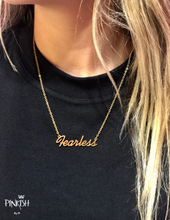 Load image into Gallery viewer, Fearless Babe Necklace
