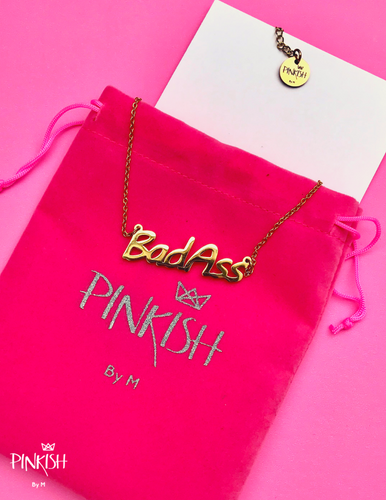 BadAss Girl Necklace