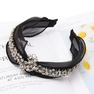 Noir Lace Hair Glam Headbands