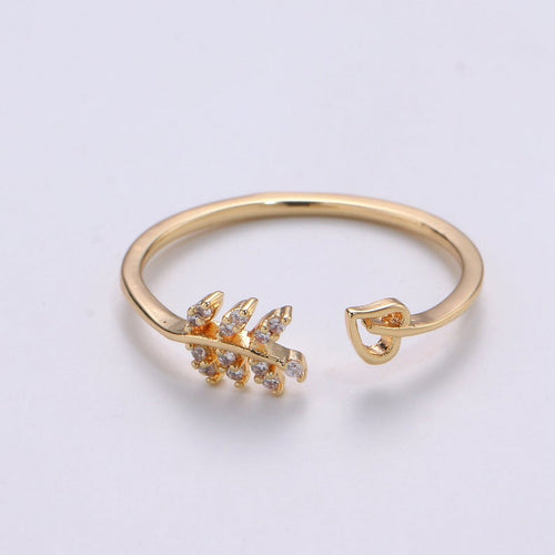 Nature Love Adjustable Ring