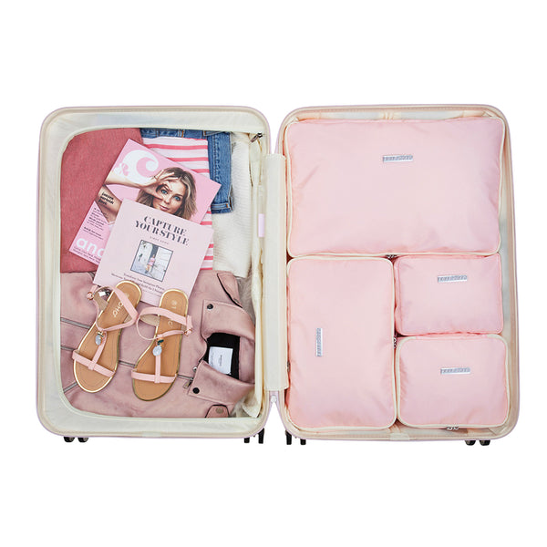 Fabulous Fifties - Pink Dust - Packing Cube Set (76 cm)