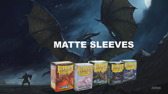 Dragon Shield Matte Sleeve, Standard, 100ct