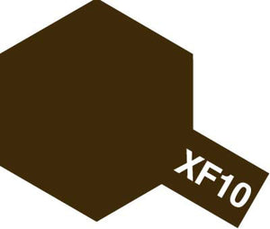 Tamiya Paint, 81710, XF-10, Flat Brown