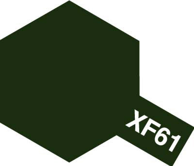 Tamiya Paint, 81761, XF-61, Dark Green