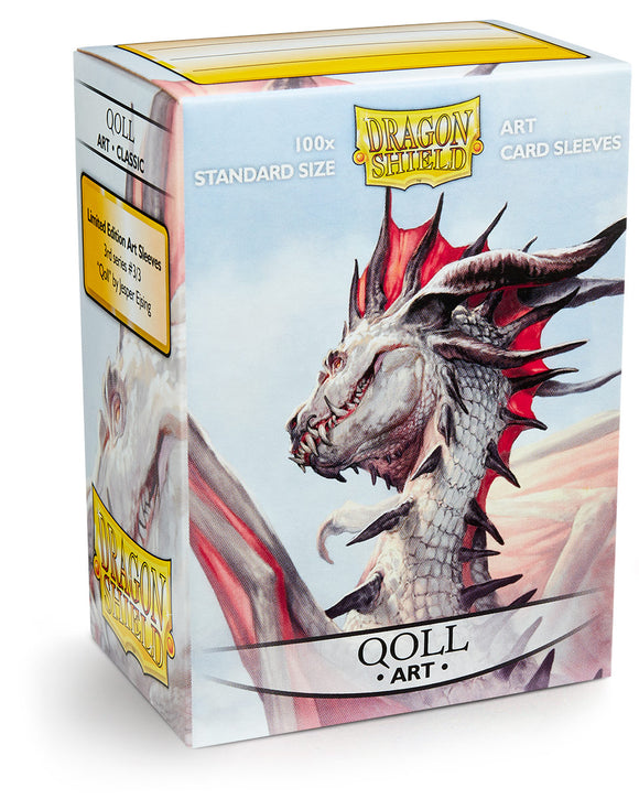 Dragon Shield Art Sleeve - Qoll
