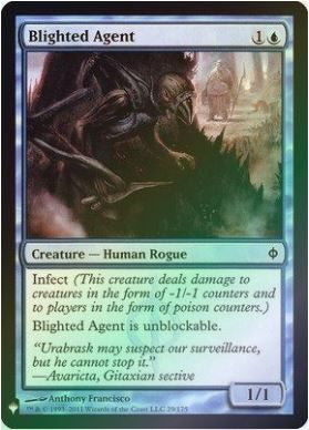 Magic: the Gathering Singles - Blighted Agent (Foil)