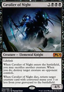 Magic: the Gathering Singles - Cavalier of Night (Promo Card)