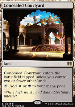 Magic: the Gathering Singles - Concealed Courtyard
