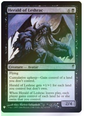 Magic: the Gathering Singles - Herald of Leshrac (Foil)