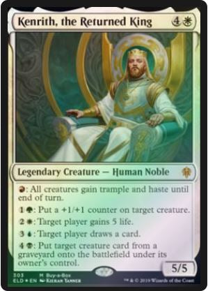 Magic: the Gathering Singles - Kenrith, the Returned King (BAB - Foil)