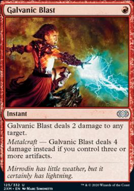 Magic: the Gathering Singles - Galvanic Blast
