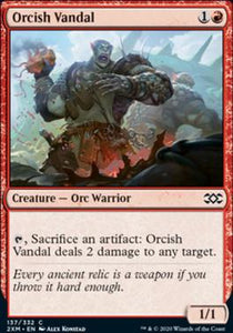 Magic: the Gathering Singles - Orcish Vandal (FOIL)