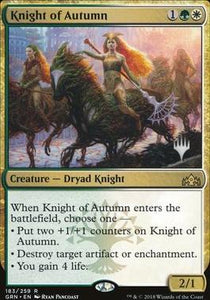 Magic: the Gathering Singles - Knight of Autumn (Promo Pack)