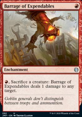 Magic: the Gathering Singles - Barrage of Expendables