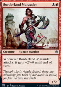 Magic: the Gathering Singles - Borderland Marauder
