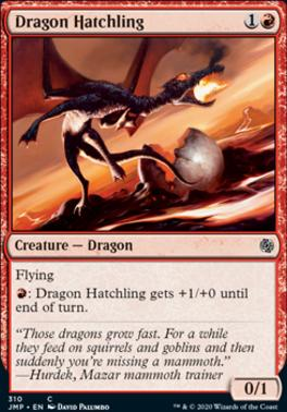 Magic: the Gathering Singles - Dragon Hatchling