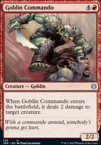 Magic: the Gathering Singles - Goblin Commando