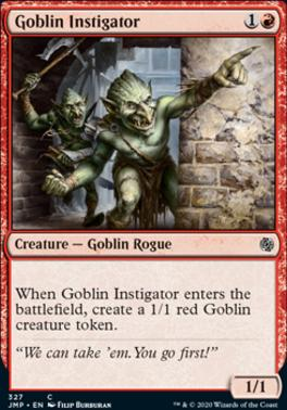 Magic: the Gathering Singles - Goblin Instigator