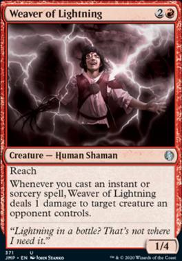 Magic: the Gathering Singles - Weaver of Lightning