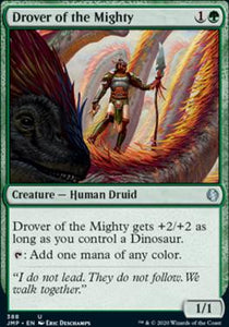 Magic: the Gathering Singles - Drover of the Mighty