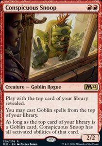 Magic: the Gathering Singles - Conspicuous Snoop