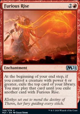Magic: the Gathering Singles - Furious Rise