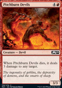 Magic: the Gathering Singles - Pitchburn Devils