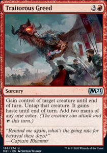 Magic: the Gathering Singles - Traitorous Greed