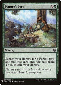 Magic: the Gathering Singles - Nature's Lore