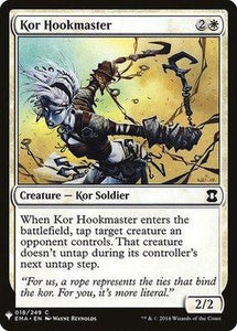 Magic: the Gathering Singles - Kor Hookmaster