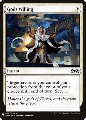 Magic: the Gathering Singles - Gods Willing