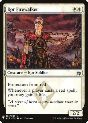 Magic: the Gathering Singles - Kor Firewalker