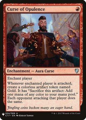 Magic: the Gathering Singles - Curse of Opulence