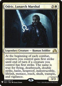 Magic: the Gathering Singles - Odric, Lunarch Marshal