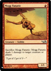 Magic: the Gathering Singles - Mogg Fanatic