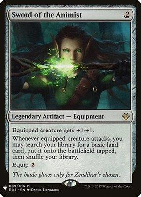 Sword of the Animist - MB1