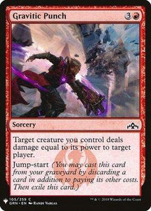 Magic: the Gathering Singles - Gravitic Punch