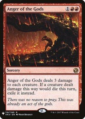 Anger of the Gods - MB1