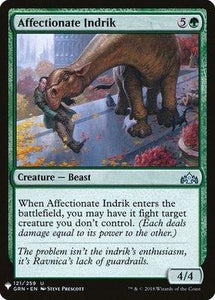 Magic: the Gathering Singles - Affectionate Indrik