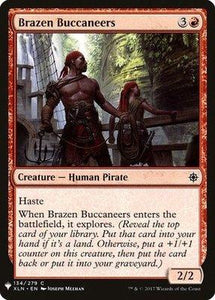 Magic: the Gathering Singles - Brazen Buccaneers