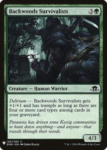 Magic: the Gathering Singles - Backwoods Survivalists