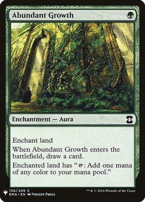 Magic: the Gathering Singles - Abundant Growth