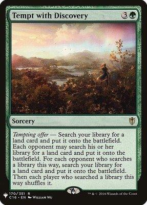 Magic: the Gathering Singles - Tempt with Discovery
