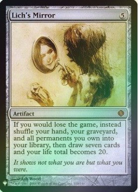 Magic: the Gathering Singles - Lich's Mirror (Foil)
