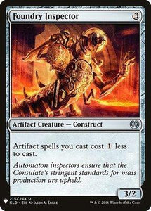 Magic: the Gathering Singles - Foundry Inspector