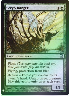 Magic: the Gathering Singles - Scryb Ranger (FOIL)