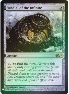 Magic: the Gathering Singles - Sundial of the Infinite (Foil)