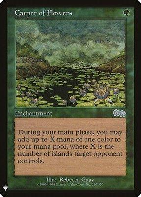 Magic: the Gathering Singles - Carpet of Flowers